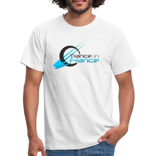 Trance In France White - Large Logo - T-shirt Homme