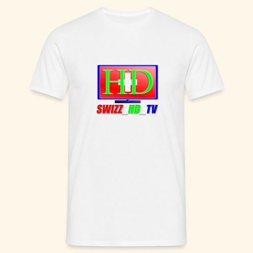 SWIZZ HD TV - Männer T-Shirt