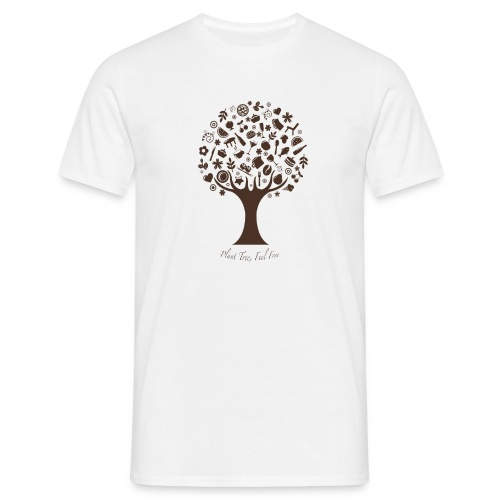 Plant Tree Feel Free - Männer T-Shirt