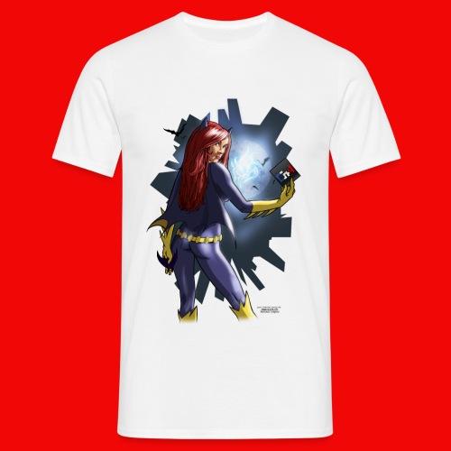 batgirl nologo3 3 png - T-shirt Homme