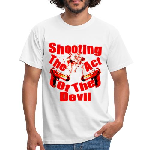 Shooting The Act Of Devil - T-shirt Homme