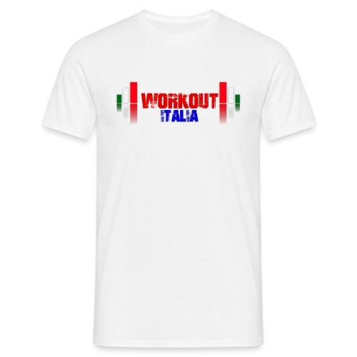 workout fondo chiaro - Maglietta da uomo