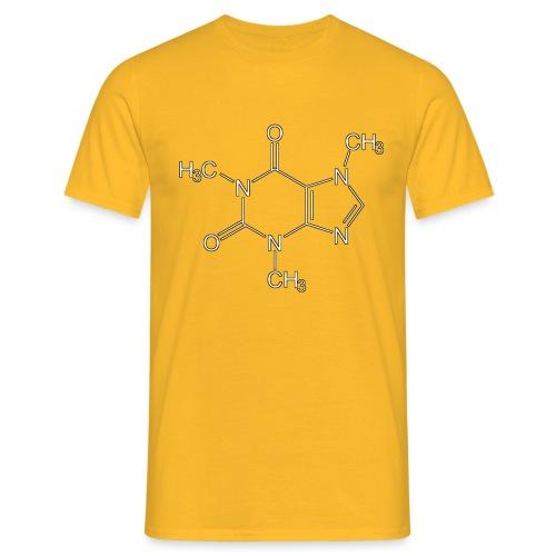 Koffein.png - Männer T-Shirt
