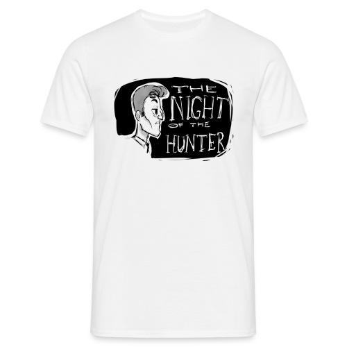 night of the hunter - Camiseta hombre