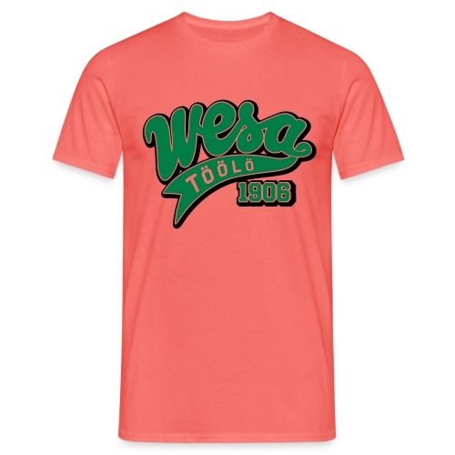 wesa retro2 - Miesten t-paita