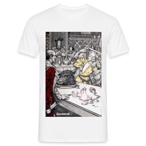 The Black Bull Dinner - Men's T-Shirt