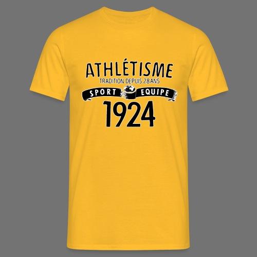 Sports Equipe 1924 (black) - Men's T-Shirt