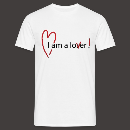 Lover - Black - T-shirt Homme