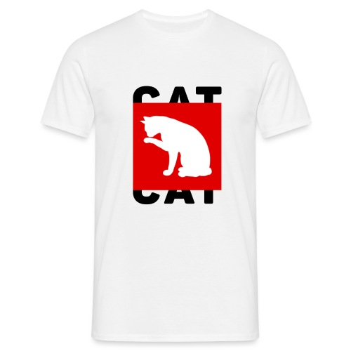 CAT - Mannen T-shirt