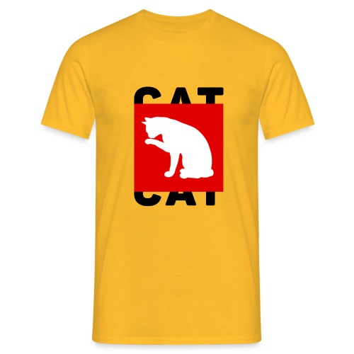 CAT - Mannen T-shirt