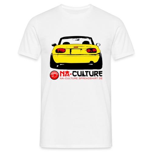 nac_gro_tail_gelb - Männer T-Shirt