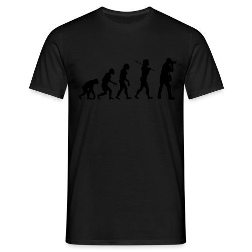 evolution fotografo - Maglietta da uomo
