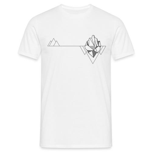 Grafik Natur Berg Eisberg Outdoor - Männer T-Shirt
