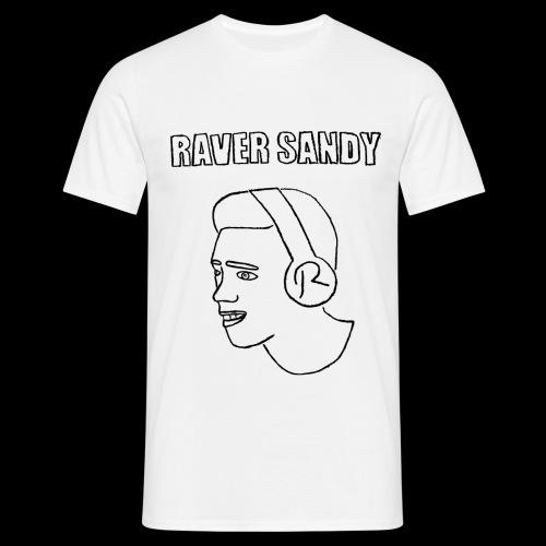 Raver Sandy official - Männer T-Shirt