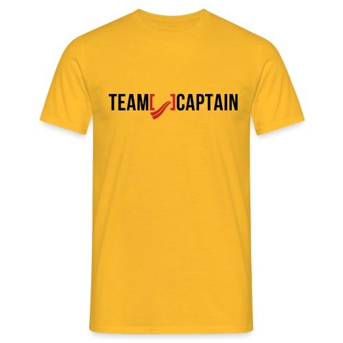 Team Captain Shirt Red png - Men's T-Shirt
