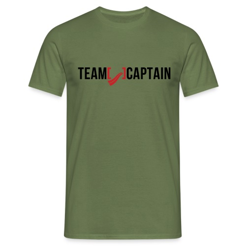Team Captain Shirt Red png - Men's T-Shirt