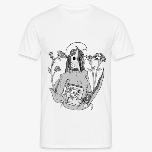 plague mask - black/white - Männer T-Shirt