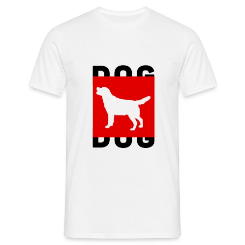 DOG - Mannen T-shirt
