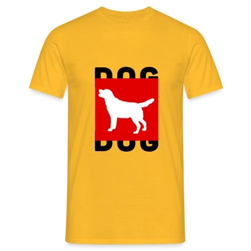 DOG - Mannen T-shirt