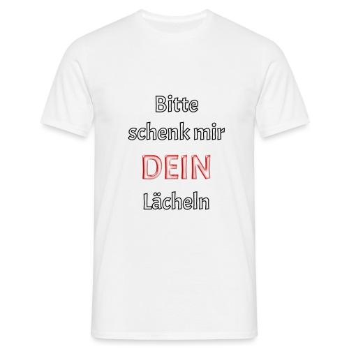 Lächeln - Männer T-Shirt