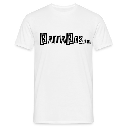 battaboxblack png - Men's T-Shirt