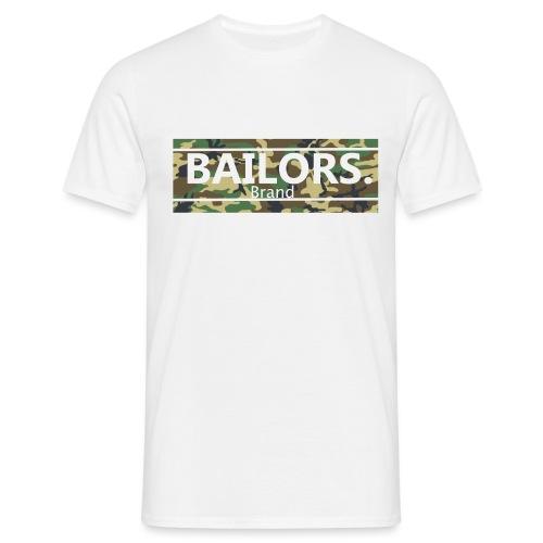 Bailors. camo pattern - Mannen T-shirt