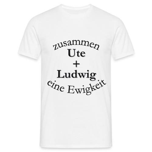 alleine ein nichts zusammen - Männer T-Shirt