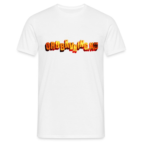 Ordbävning nu - T-shirt herr