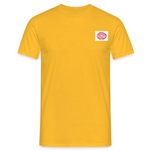 golden hour - T-skjorte for menn