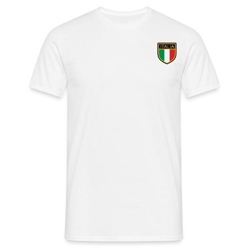 SCUDETTO ITALIA CALCIO - Maglietta da uomo