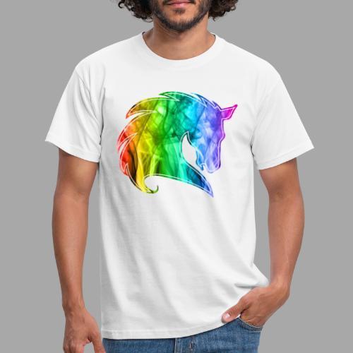 Rainbow Horse - Maglietta da uomo