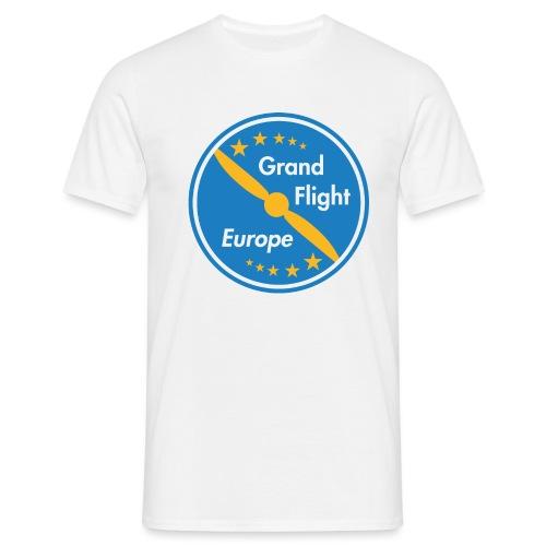 Grand Flight Europe Logo - Männer T-Shirt