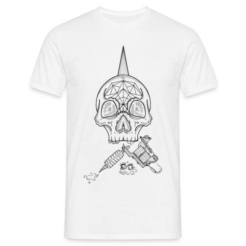 Skull tattoo - T-shirt Homme