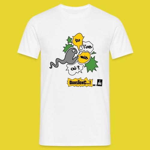 TU L AS MIS OU png - T-shirt Homme