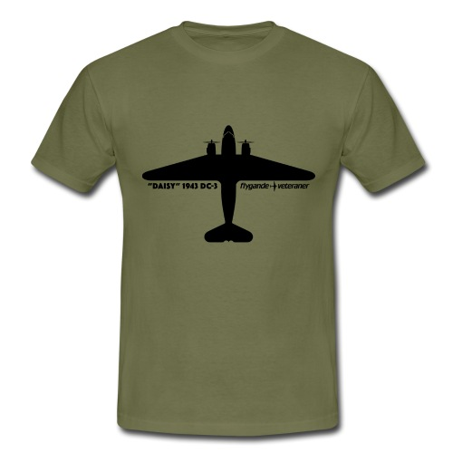 Daisy Silhouette Top 1 - T-shirt herr