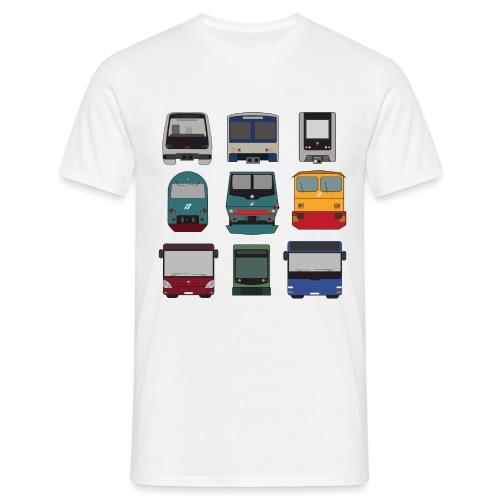 FRONTALI - Maglietta da uomo