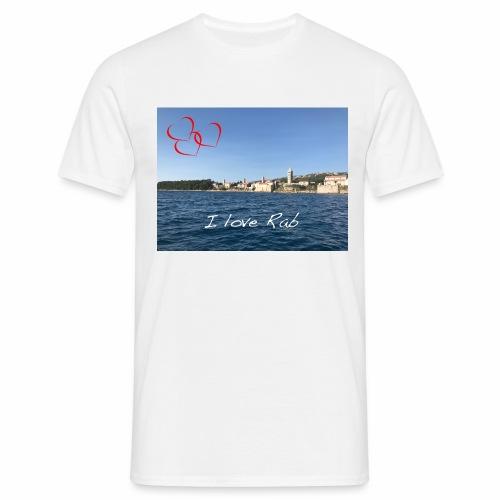 I love Rab - Männer T-Shirt