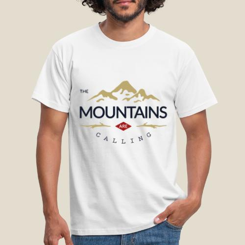 Outdoor mountain - T-shirt Homme