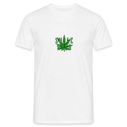smoke weed png - T-shirt Homme