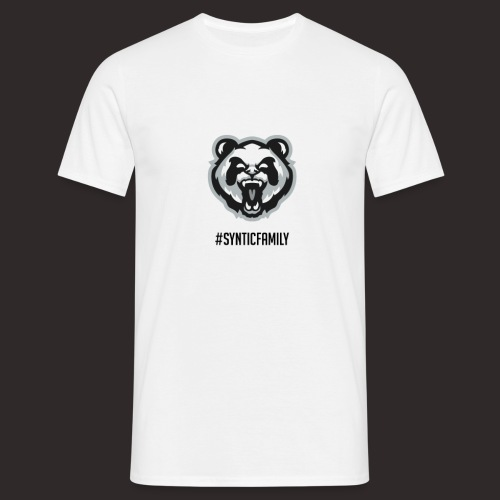 SynticFamilyBlack png - Männer T-Shirt