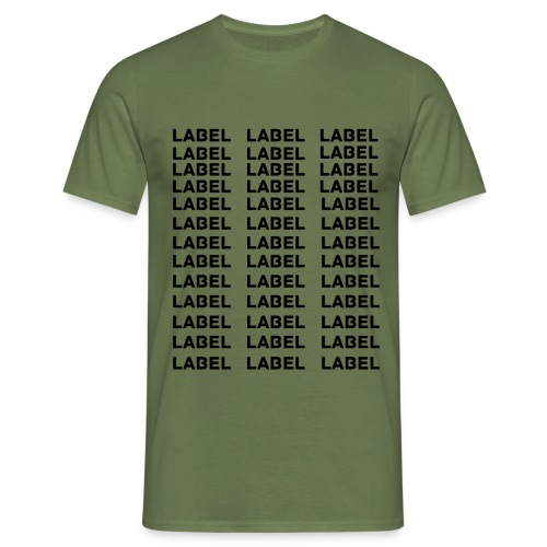 LABEL - Multitude Design - Men's T-Shirt