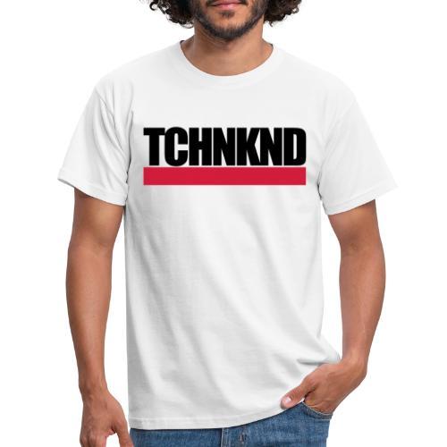 TCHNKND Technokind MNML Schriftzug - Männer T-Shirt