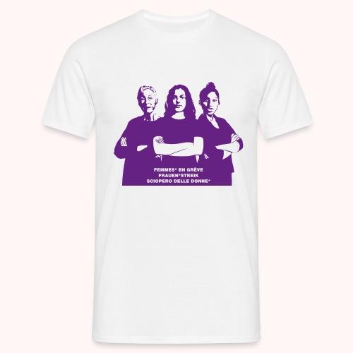 Drei starke Frauen - Männer T-Shirt