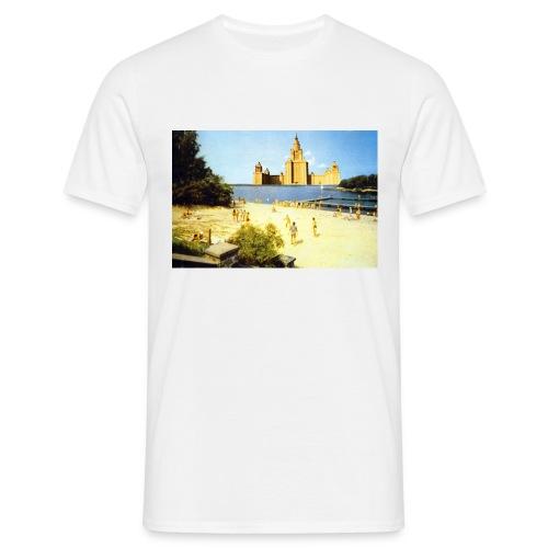 vue sur la mer jpg - T-shirt Homme