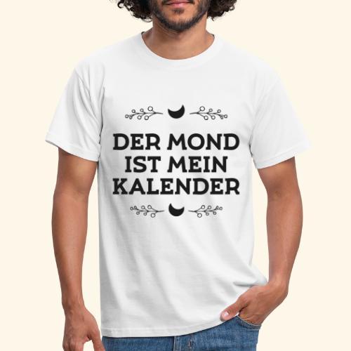 Mondkalender I Garten Mond Geschenk - Männer T-Shirt