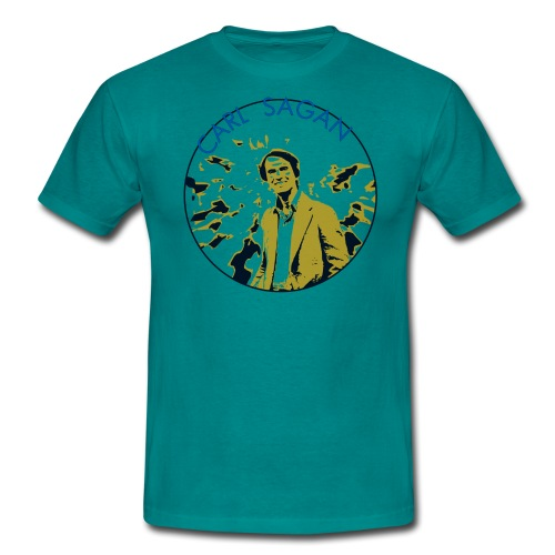 Vintage Carl Sagan - Men's T-Shirt