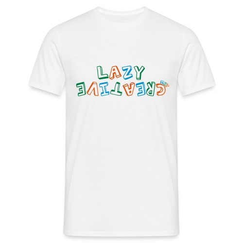 LC PUM Org logo White - T-shirt herr