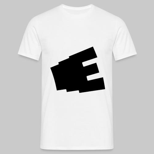 Svart logga - T-shirt herr