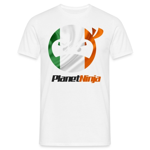 Irish Planet Ninja - Men's T-Shirt