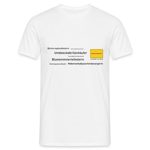 ML WIFO 20 0001 HASHTAG WORTSCHLANGE - Männer T-Shirt